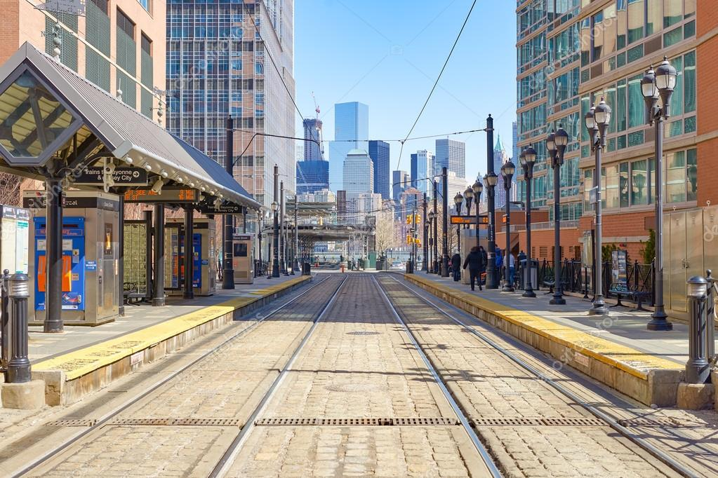 Jersey City at daytime