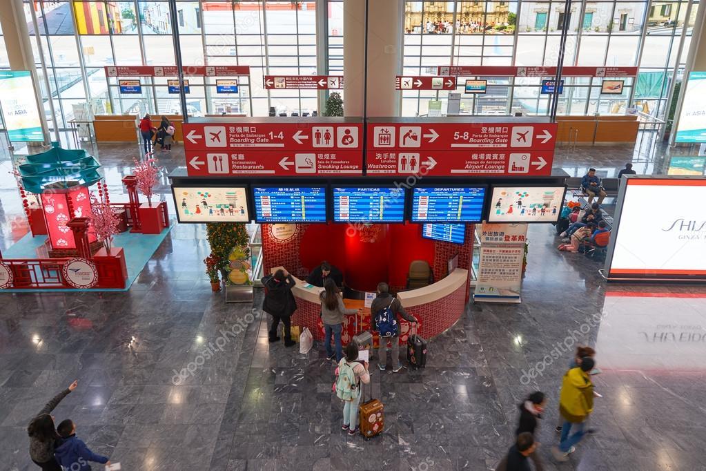 Aeroporto Internacional De Macau : Aeroporto internacional de macau — fotografia stock