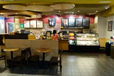 airport cafe interior