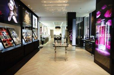 Modern perfume shopping center
