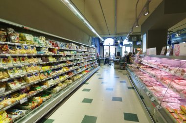 supermarket interior in Venice