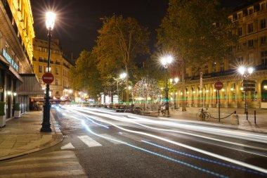 Paris city at night