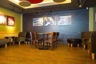 Starbucks cafe interior