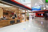 Mezinárodní letiště v Dubaji interiér