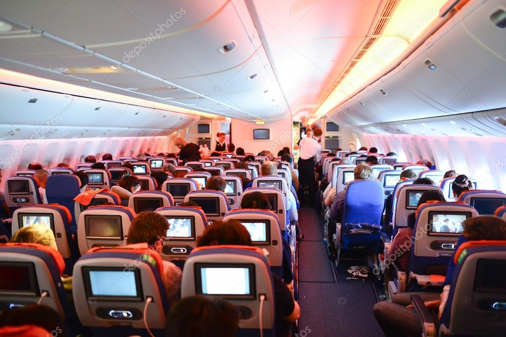 Aeroflot boeing 777 innen stockfoto 93734436 for Interieur boeing 777