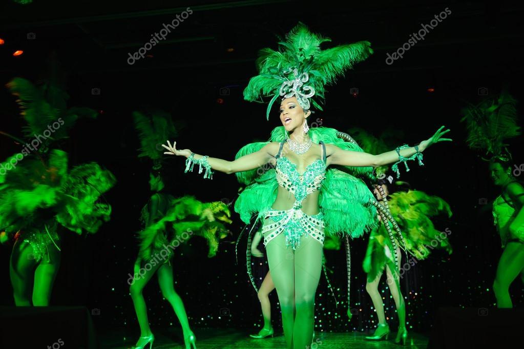 Dancers in Cabaret Show