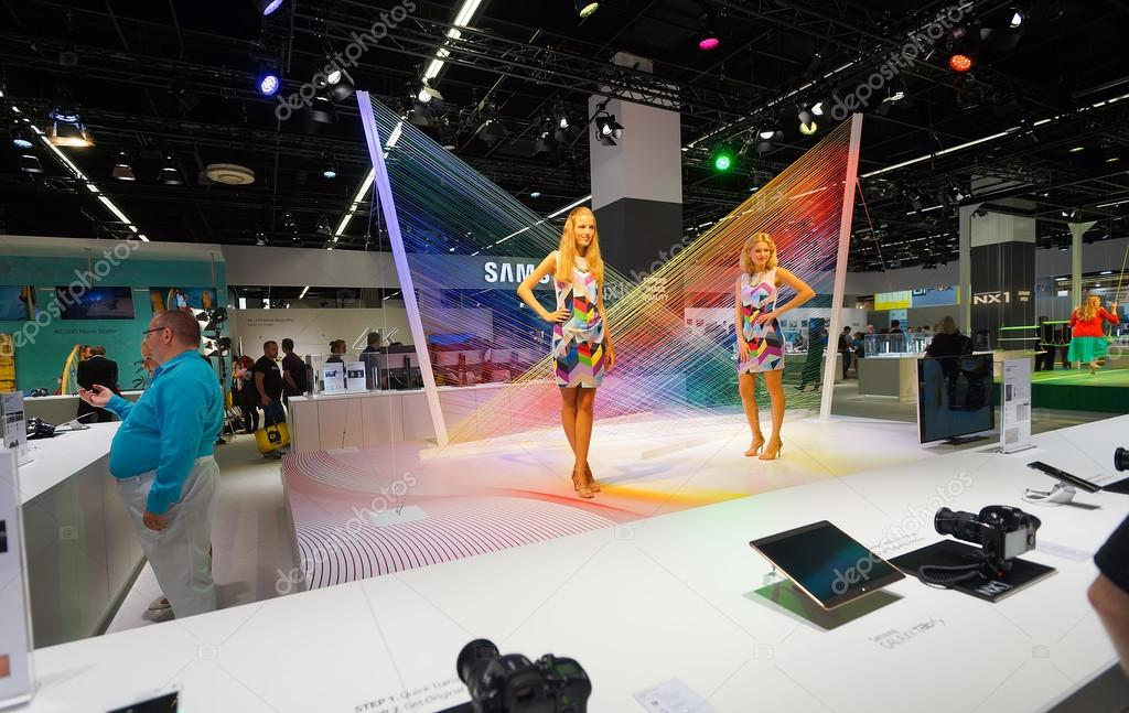 D Exhibition Stand Free Download : Samsung stand in the photokina exhibition u2013 stock editorial photo
