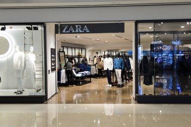 Zara store interior