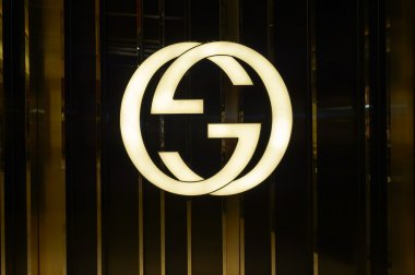 Gucci logo in Landmark shopping mall