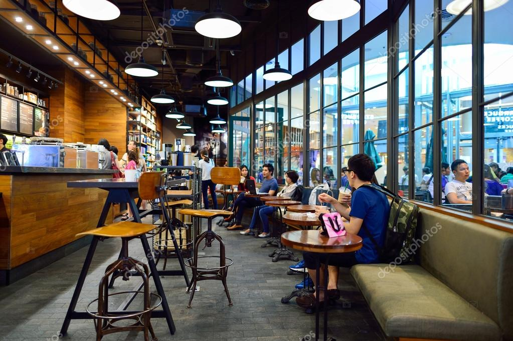Starbucks Cafe interior – Stock Editorial Photo © teamtime #98819912
