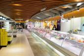 Interiér supermarketu potravin