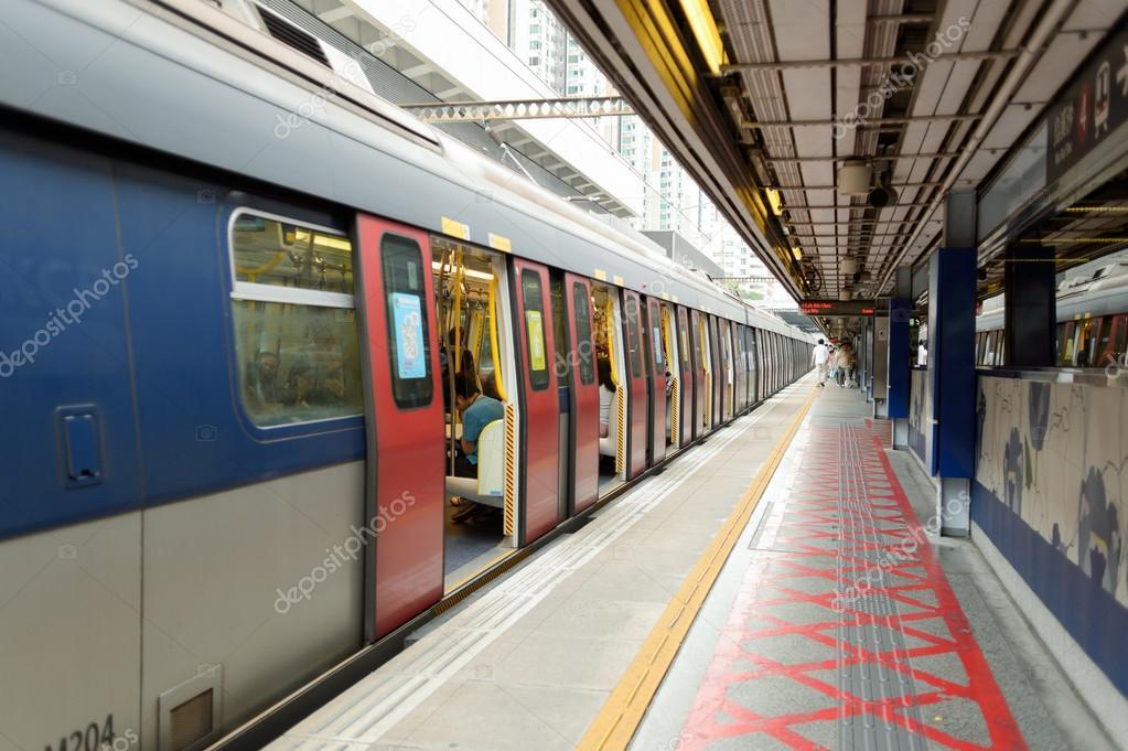 Hong Kong MTR station – Stock Editorial Photo © teamtime