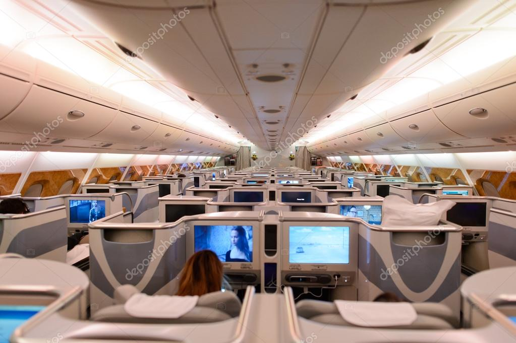Emirates airbus a380 interior stock editorial photo for A380 air france interieur