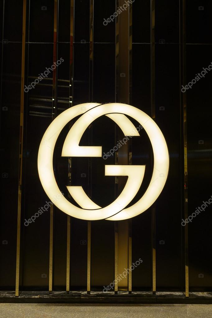 Gucci Logo In Landmark Shopping Mall