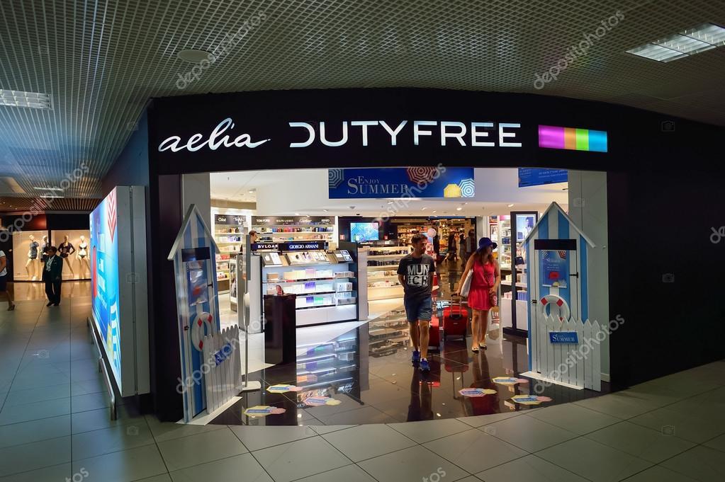 46f9bd91e Shop interior in Airport – Stock Editorial Photo © teamtime #98827606
