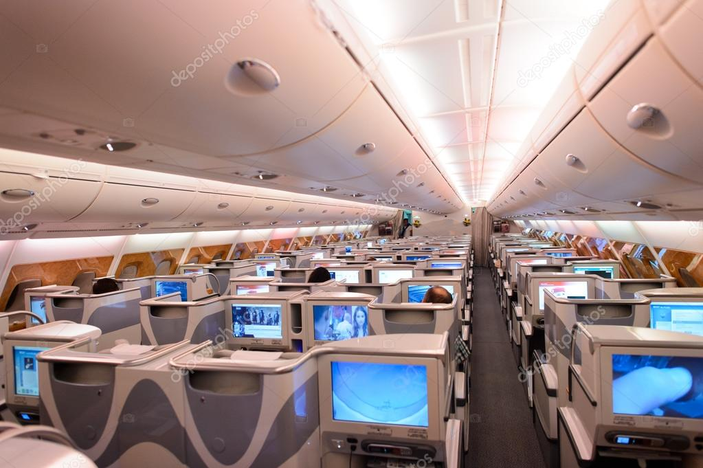 int rieur de airbus a380 emirates photo ditoriale
