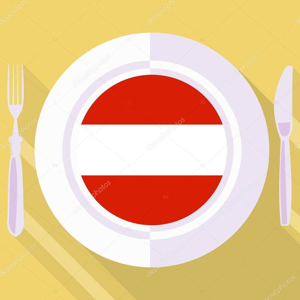 Kuchnia Z Austrii Grafika Wektorowa Perysty 61439117