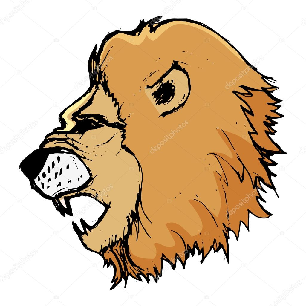 ライオン、predato、サバンナの動物、動物園の野生動物のイラスト