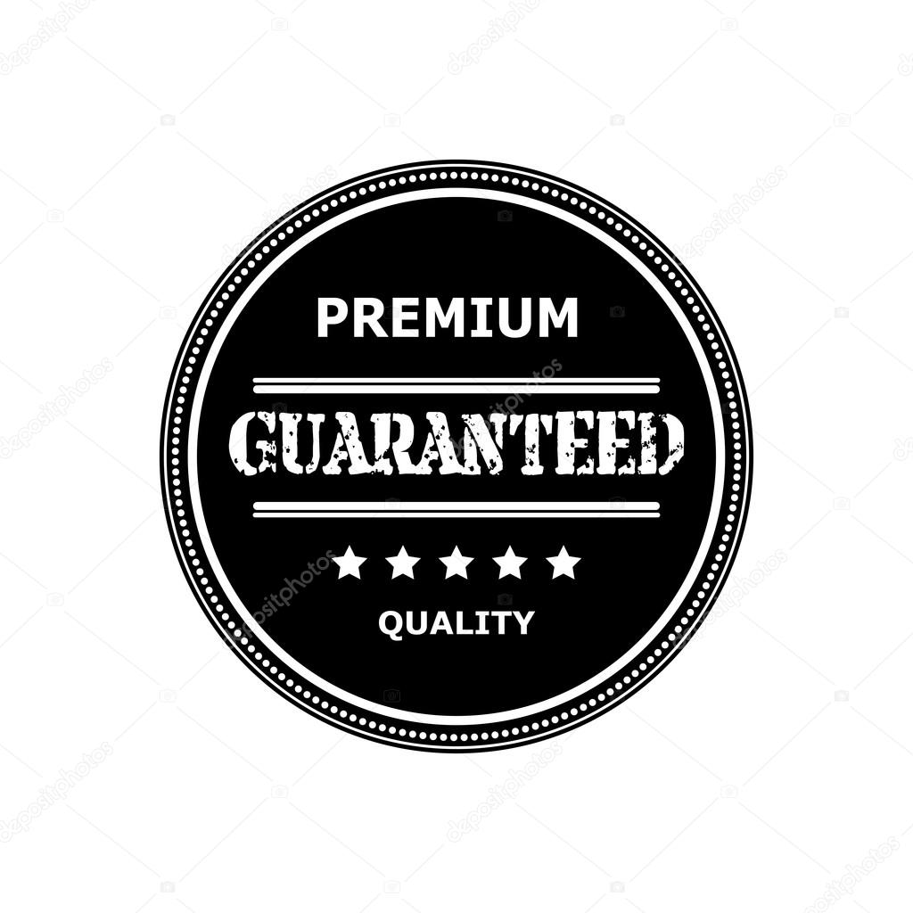 Round logo, sticker, medal isolated on a white background. Label