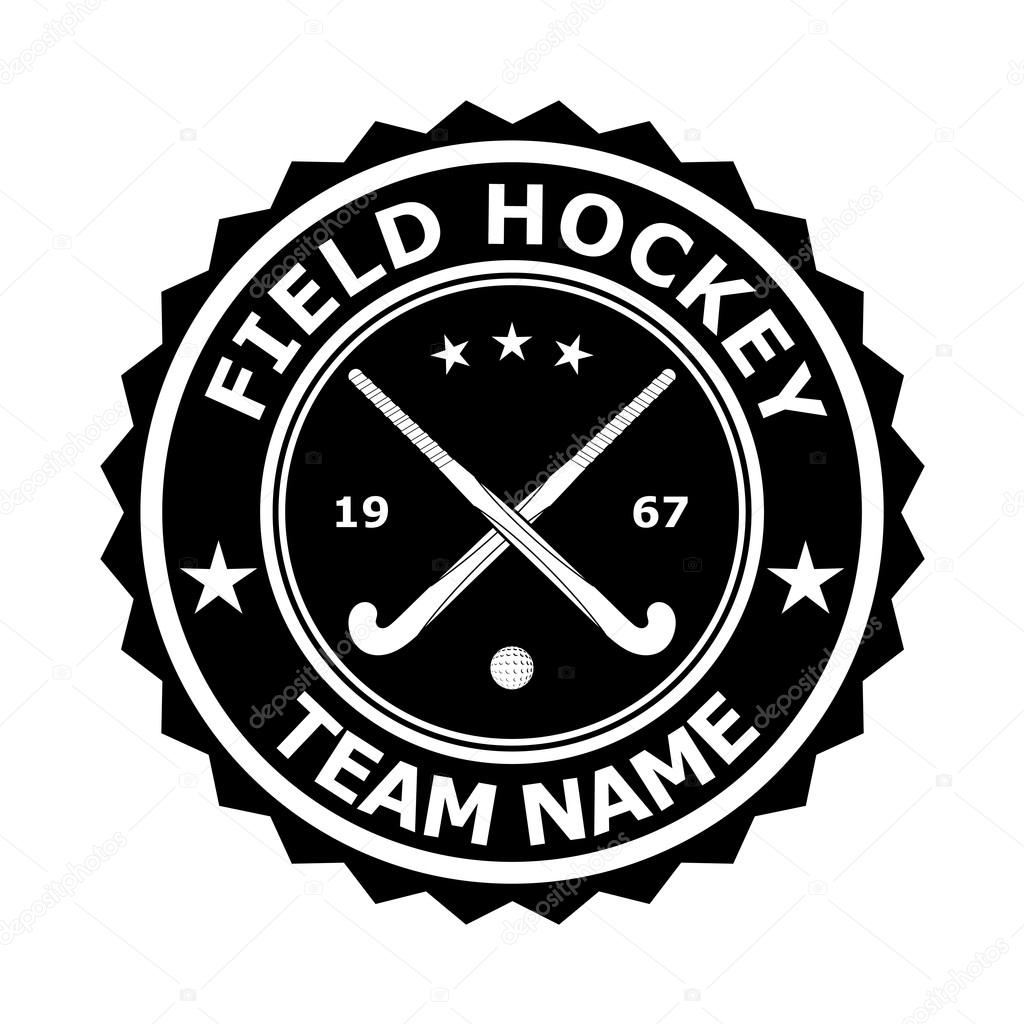 Black badge emblem desizhn for the team field hockey vector ill black badge emblem desizhn for the team field hockey vector ill stock vector biocorpaavc Image collections