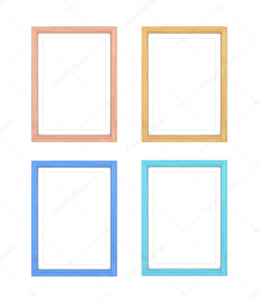 e2631b858c95 Collection of multi-colored frames