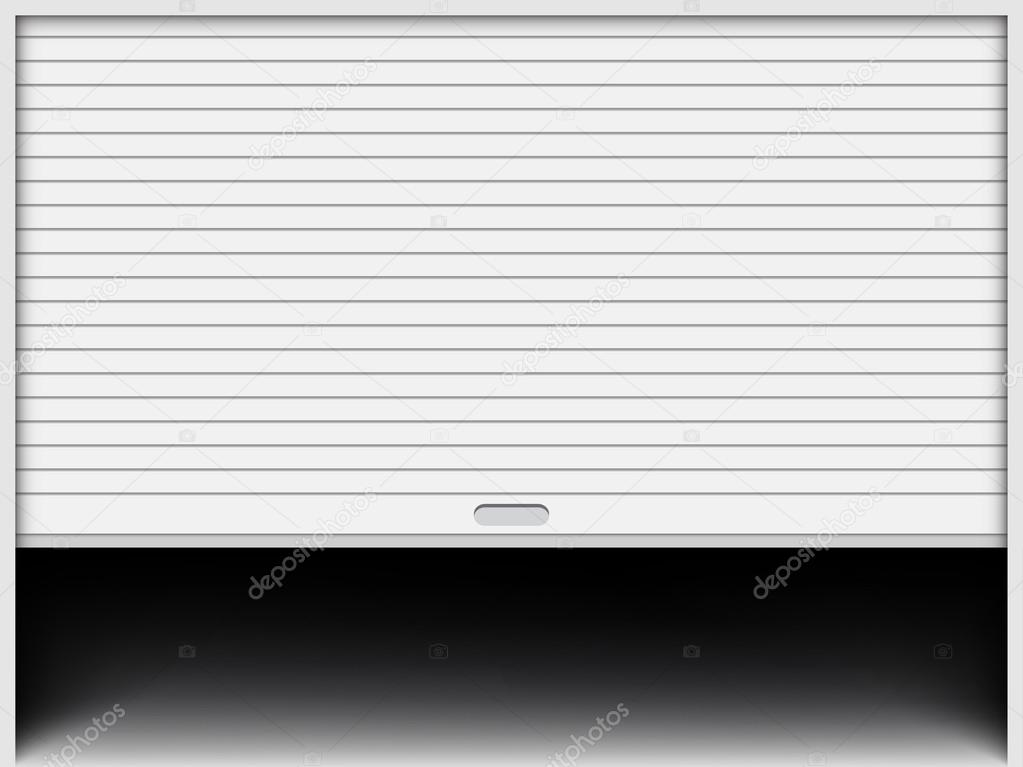 Garage Door Vector Illustration Vector Image By C Urfingus Vector Stock 113834750