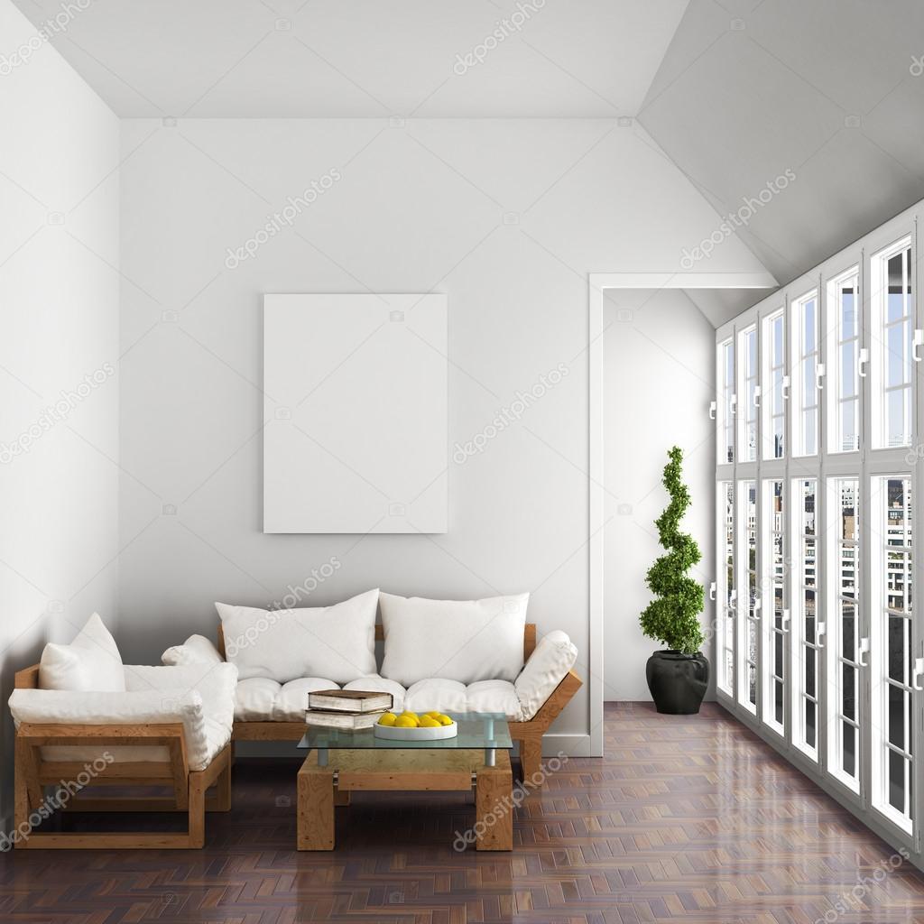 Schön Schöne Einrichtung Ideen Von Einrichtung, Sofa, Sessel, Großen Fenstern, Schöne Dachgeschoss,