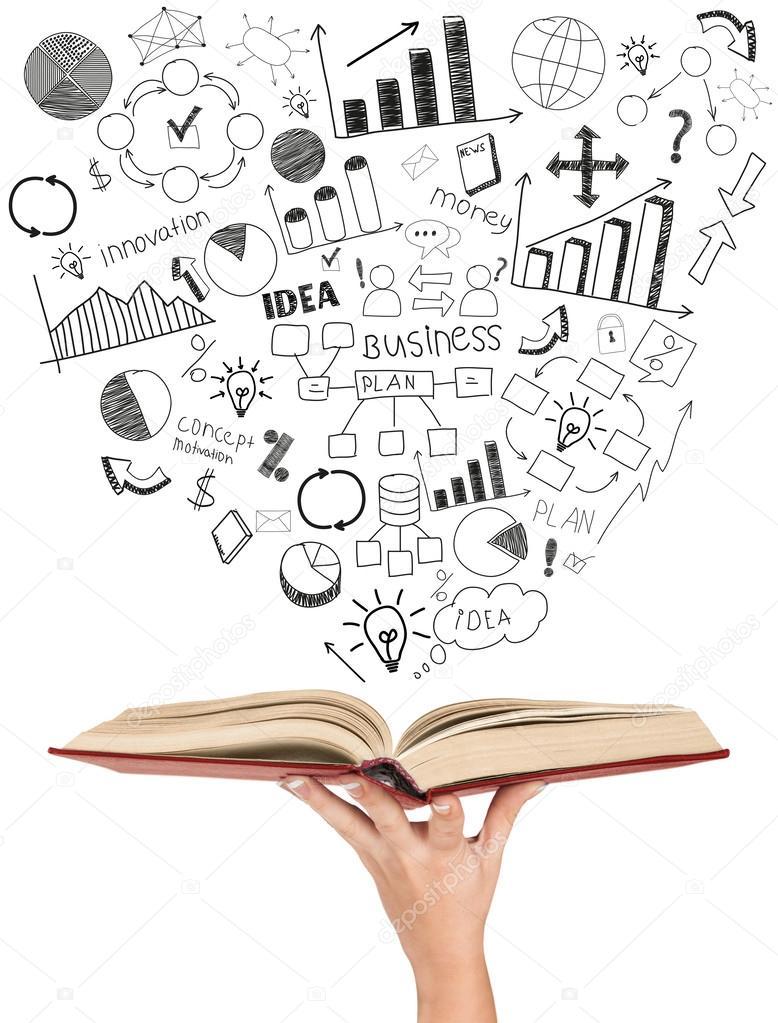 Offenes Buch Auf Weissem Hintergrund Stockfoto C Urfingus 56057683