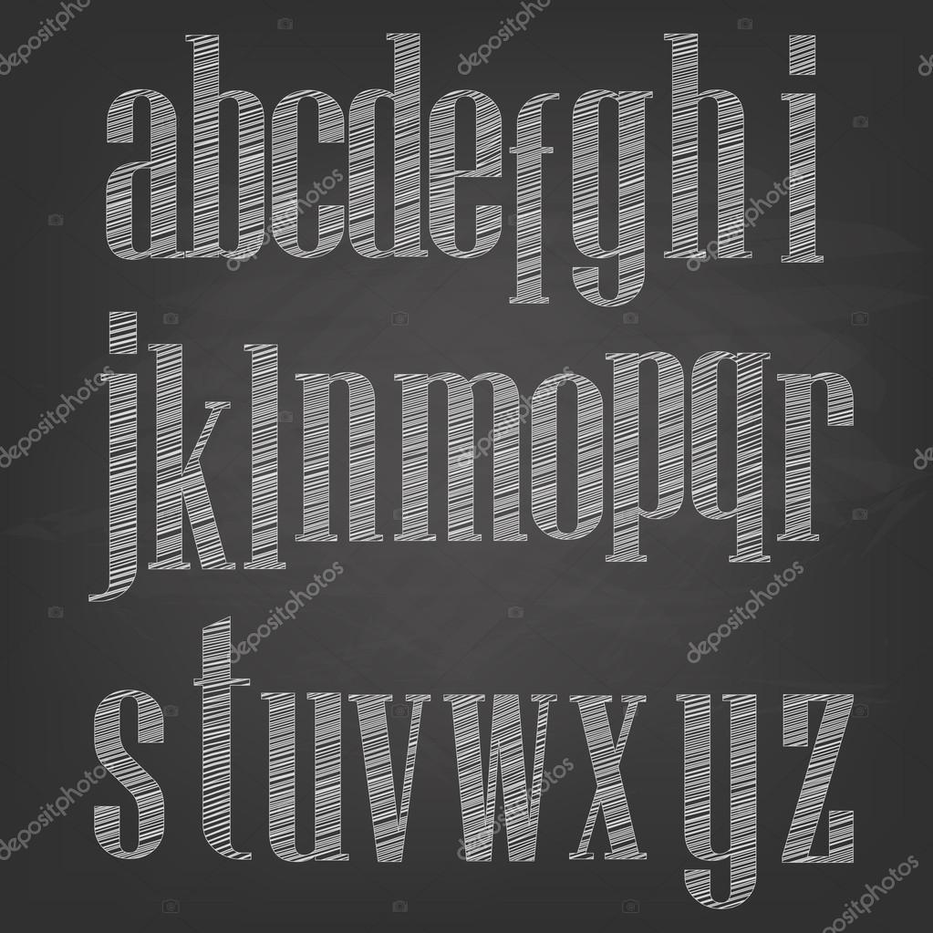 チョークのベクトル イラスト スケッチ黒板背景に文字 ストック