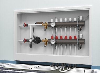 Heating floor system