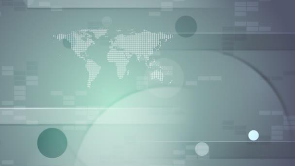 Absztrakt tech videóinak animációs klip