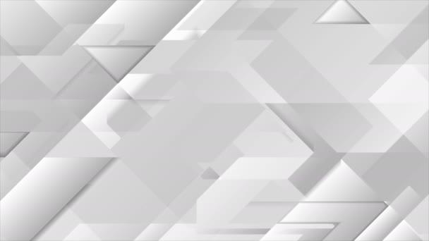Abstraktní firemní geometrické video animace