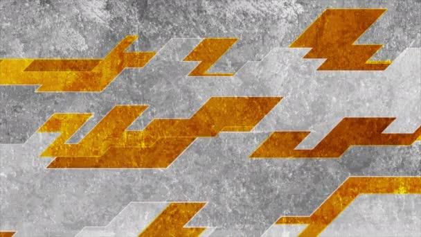 Narancs és szürke grunge csíkok elvont mozgás tervezés