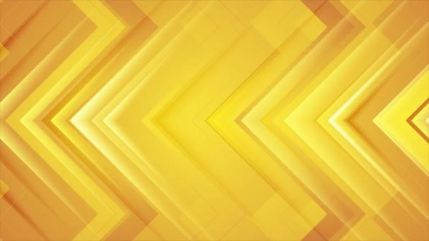 Absztrakt narancs fényes nyilak geometriai tech mozgás háttér