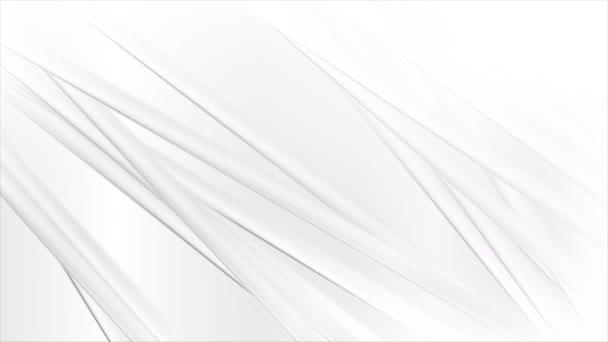 Fehér szürke sima csíkok elvont modern mozgás háttér