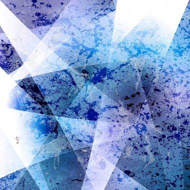 Abstract blue grunge vector background