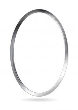 Steel metal ellipse frame
