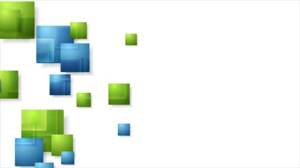 Mozgó tech négyzetek