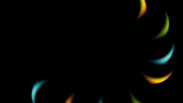 Moderní barevné logo, pět barev