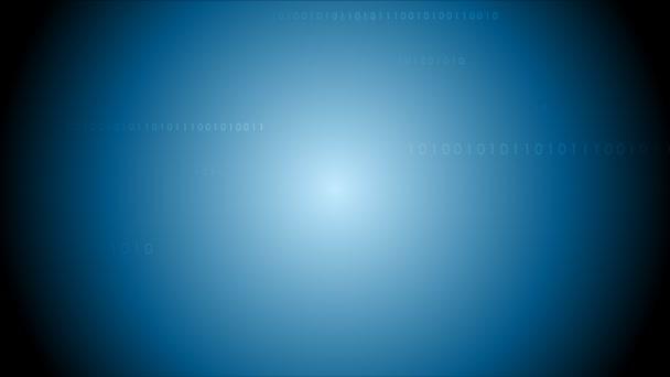 Dark blue binary system code