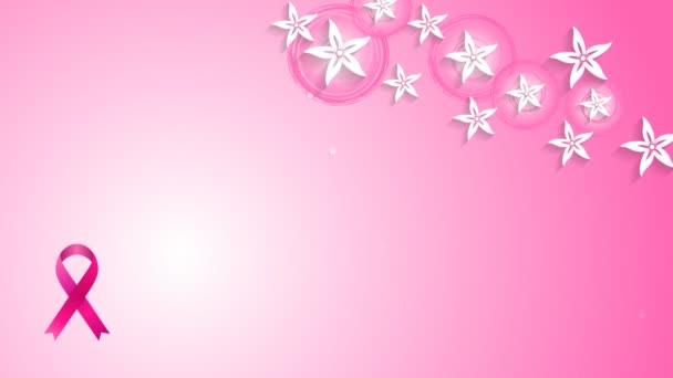 Květiny a prsu Rakovina zvyšování karet