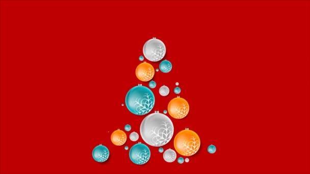 Tannenbaum Animation.Tannenbaum Weihnachten Kugeln Video Animation
