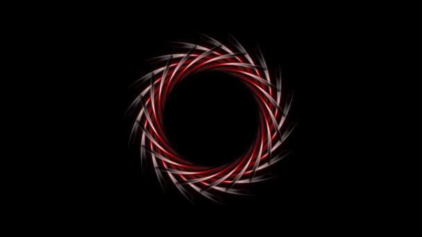 Abstraktní logo design na černém pozadí