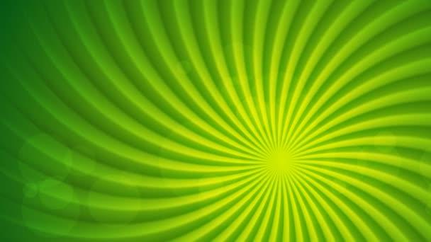 Zöld fényes absztrakt animáció