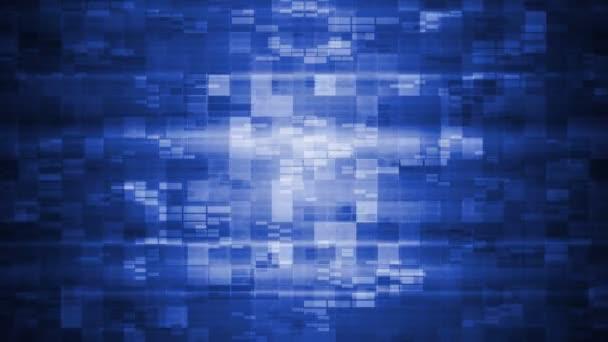 Tech modré čtverečky pozadí