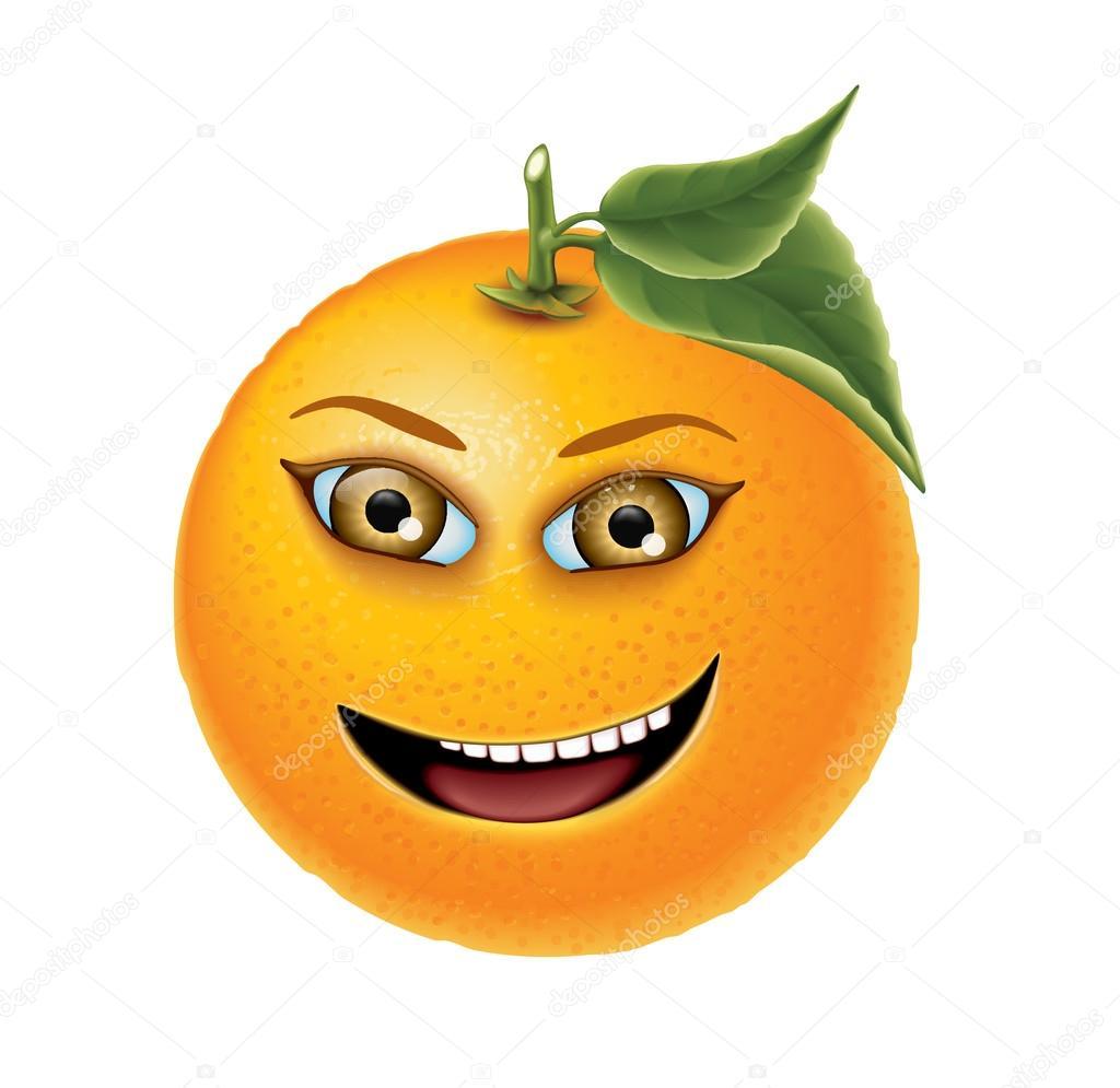 orange brown eye