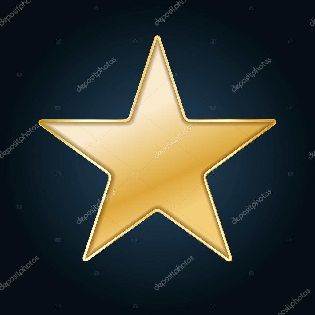 golden star background cut out in black paper stock vector