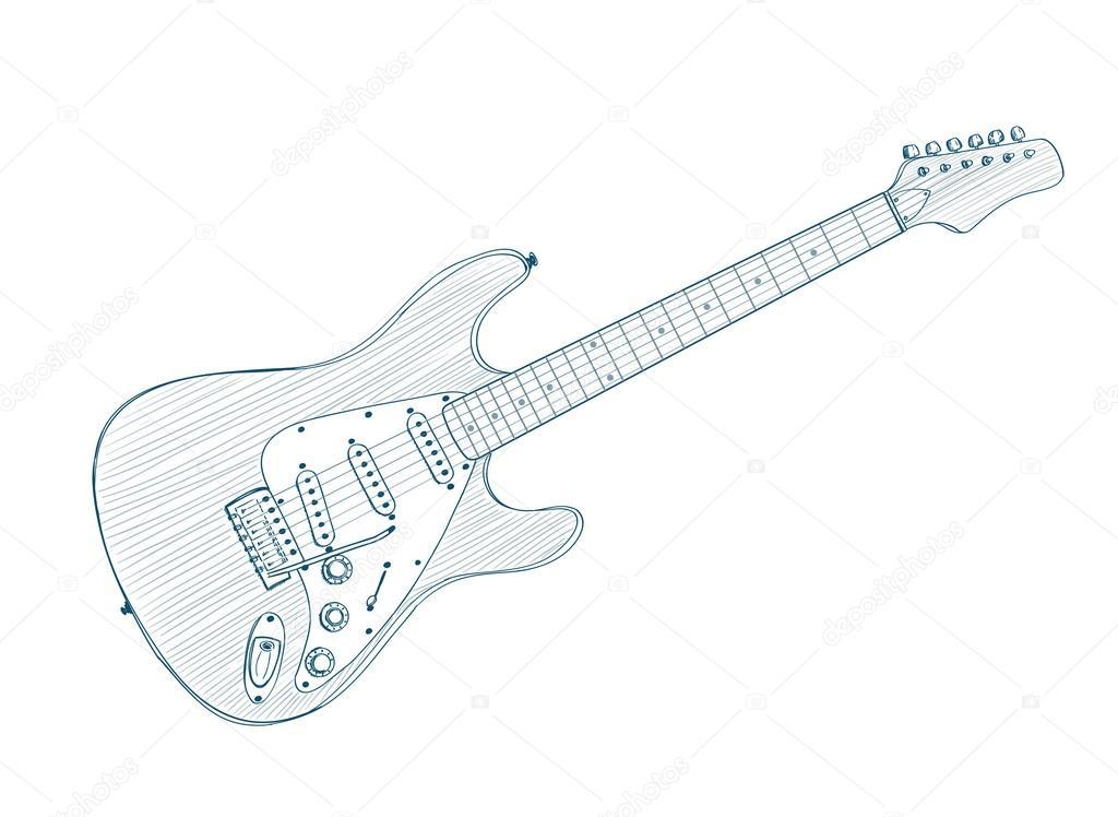 kleurplaat elektrische gitaar kidkleurplaat nl