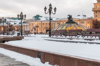 Manege Square in Moscow