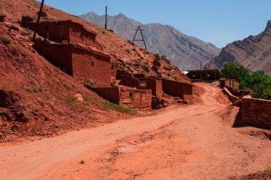 Mountain village in Tajikistan